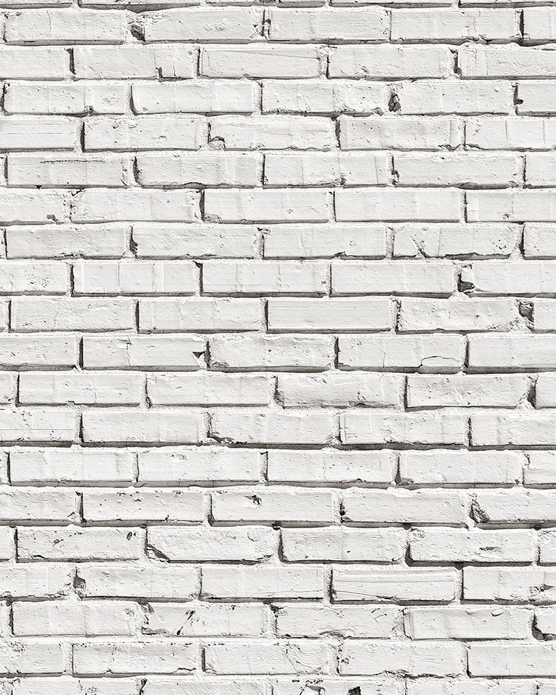 White Brick Wall Mural White Brick Walls White Brick White Brick Wallpaper