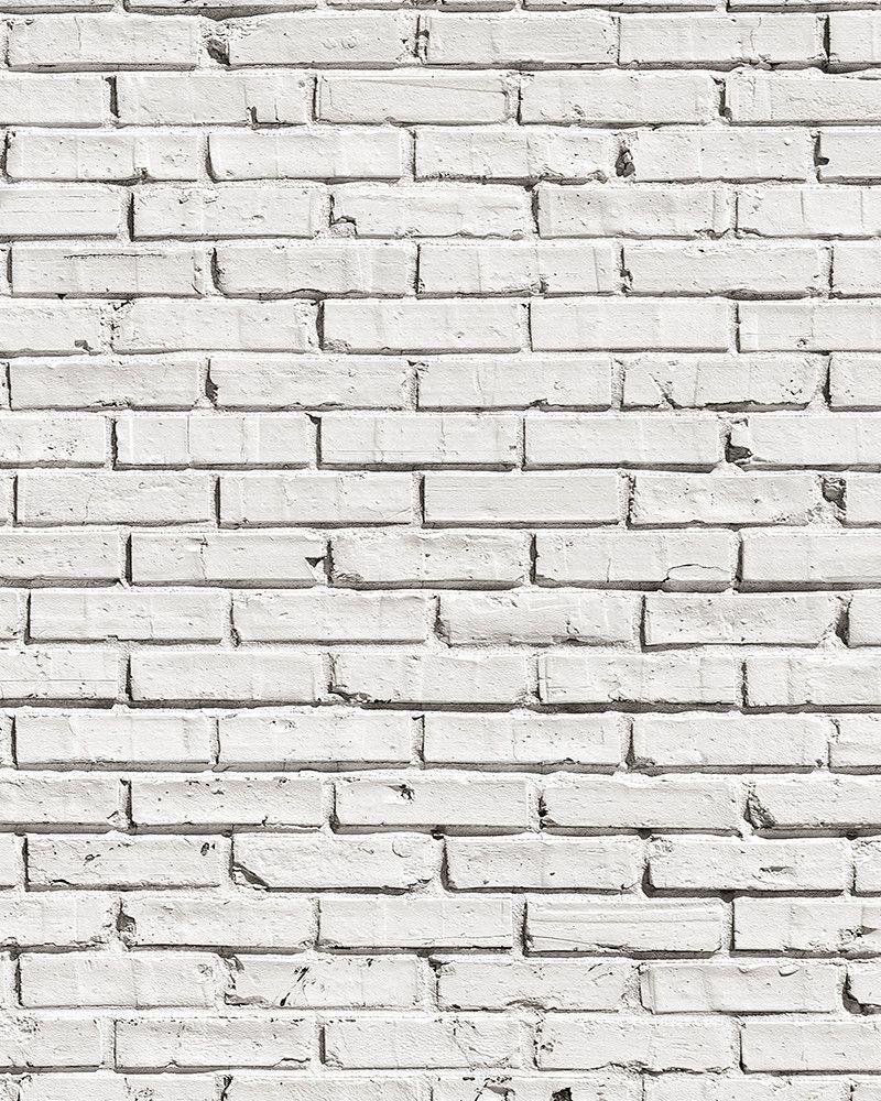 White Brick Wall Mural White Brick Walls White Brick White Brick Wallpaper