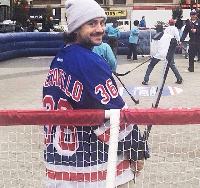Zuuuuccccc New York Rangers Street Hockey Ranger