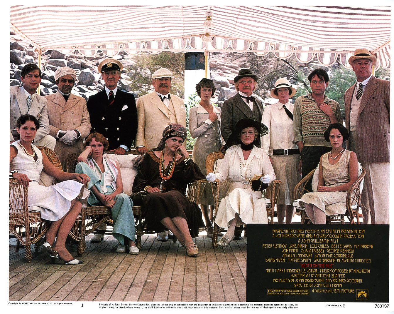 Death On the Nile 1978 dieulois