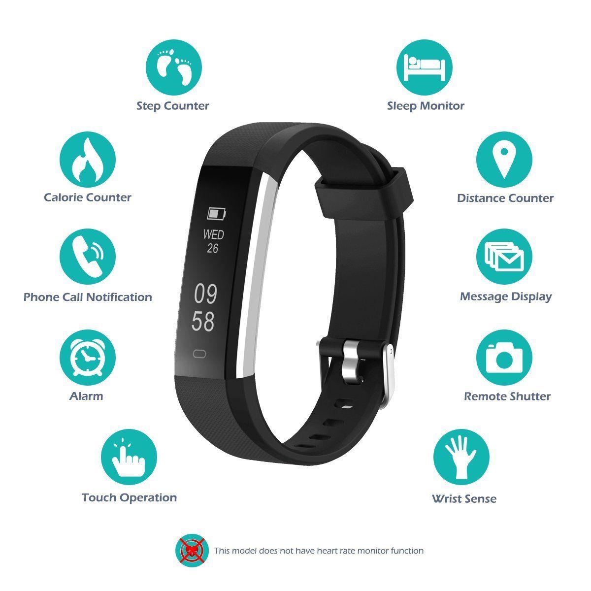 Fitness Tracker Watch Fitness Tracker Chereeki Activity Tracker Ip67 Waterproof With Replaceable Stra Fitness Watch Tracker Fitness Tracker Activity Tracker