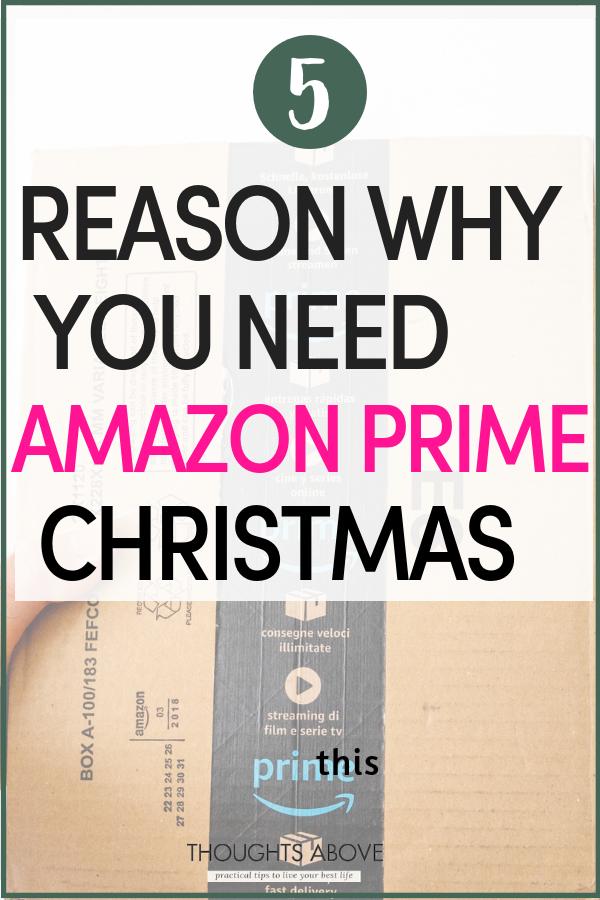 5 Reasons to Use Amazon Prime this Month. Amazon prime