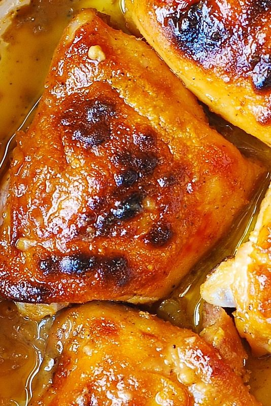 Baked Chicken Recipes For Dinner Thighs