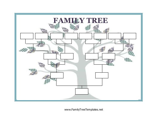 Image Result For Blank Family Tree  Family Lesson Plan