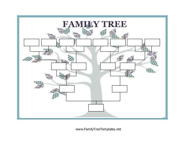 Image result for blank family tree family lesson plan Pinterest