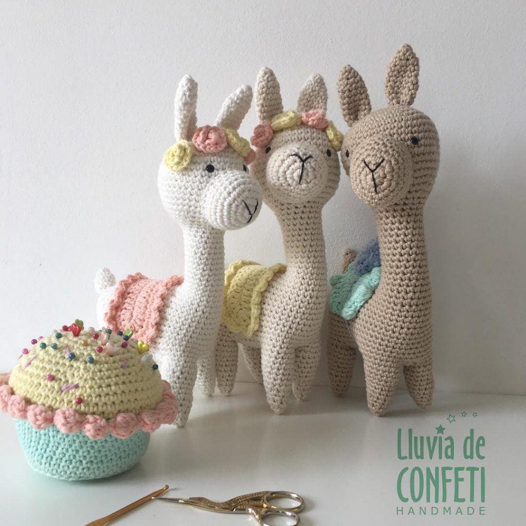 Llama Crochet Patterns – Amigurumi Tips - A More Crafty Life   1024x1024