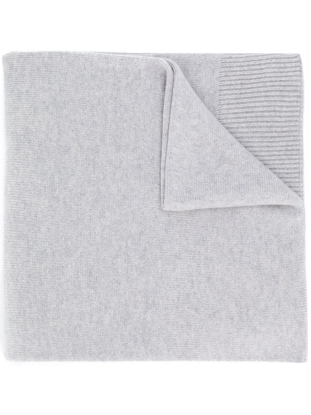 Photo of Agnona knitted scarf – Grey