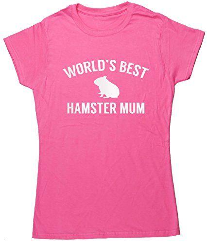 HippoWarehouse World's best hamster mum womens fitted short sleeve t-shirt HippoWarehouse http://www.amazon.co.uk/dp/B01277BJLM/ref=cm_sw_r_pi_dp_cGz6vb0ZNDQJK