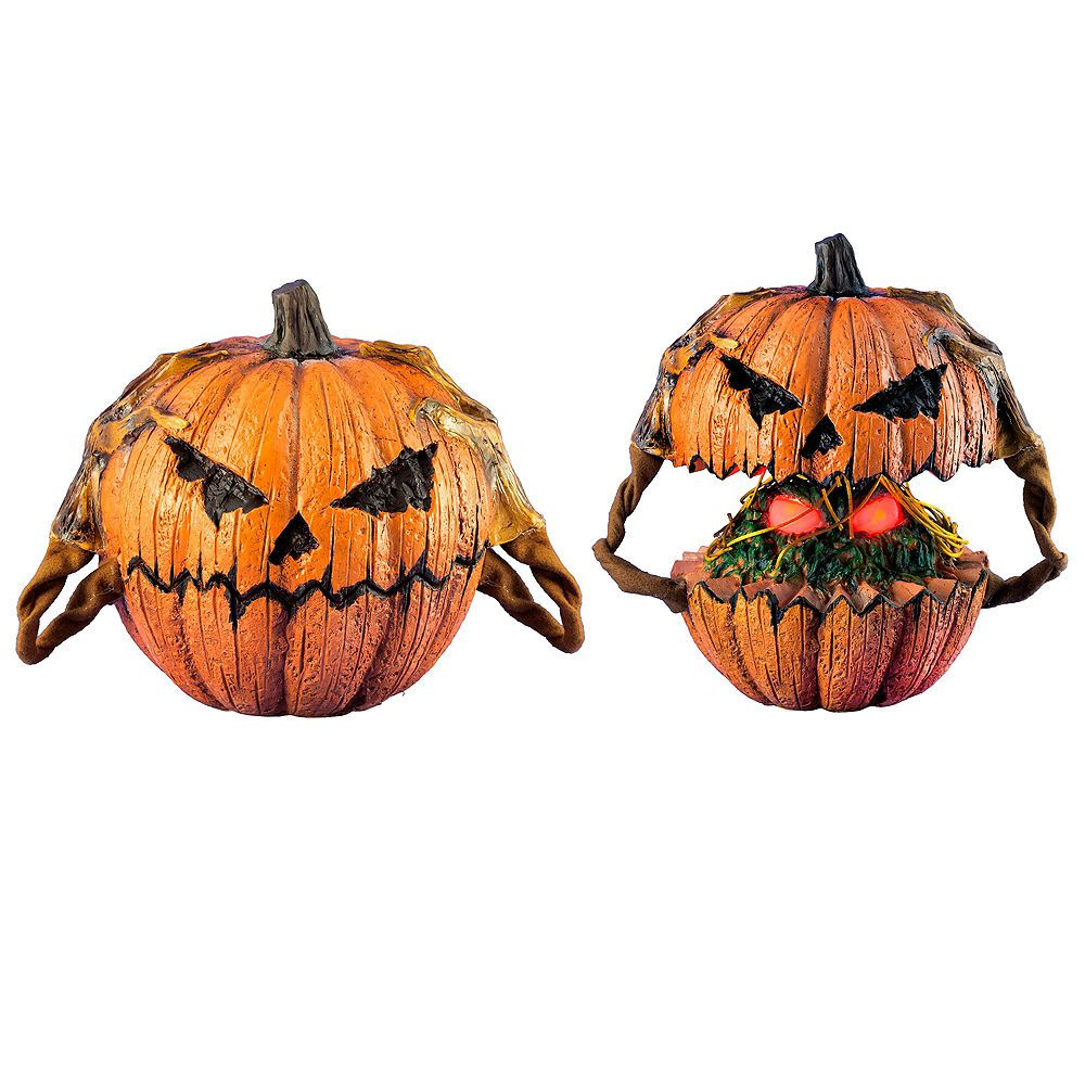 Animated PopUp Jacko'Lantern 11 3/4in x 10 1/4in