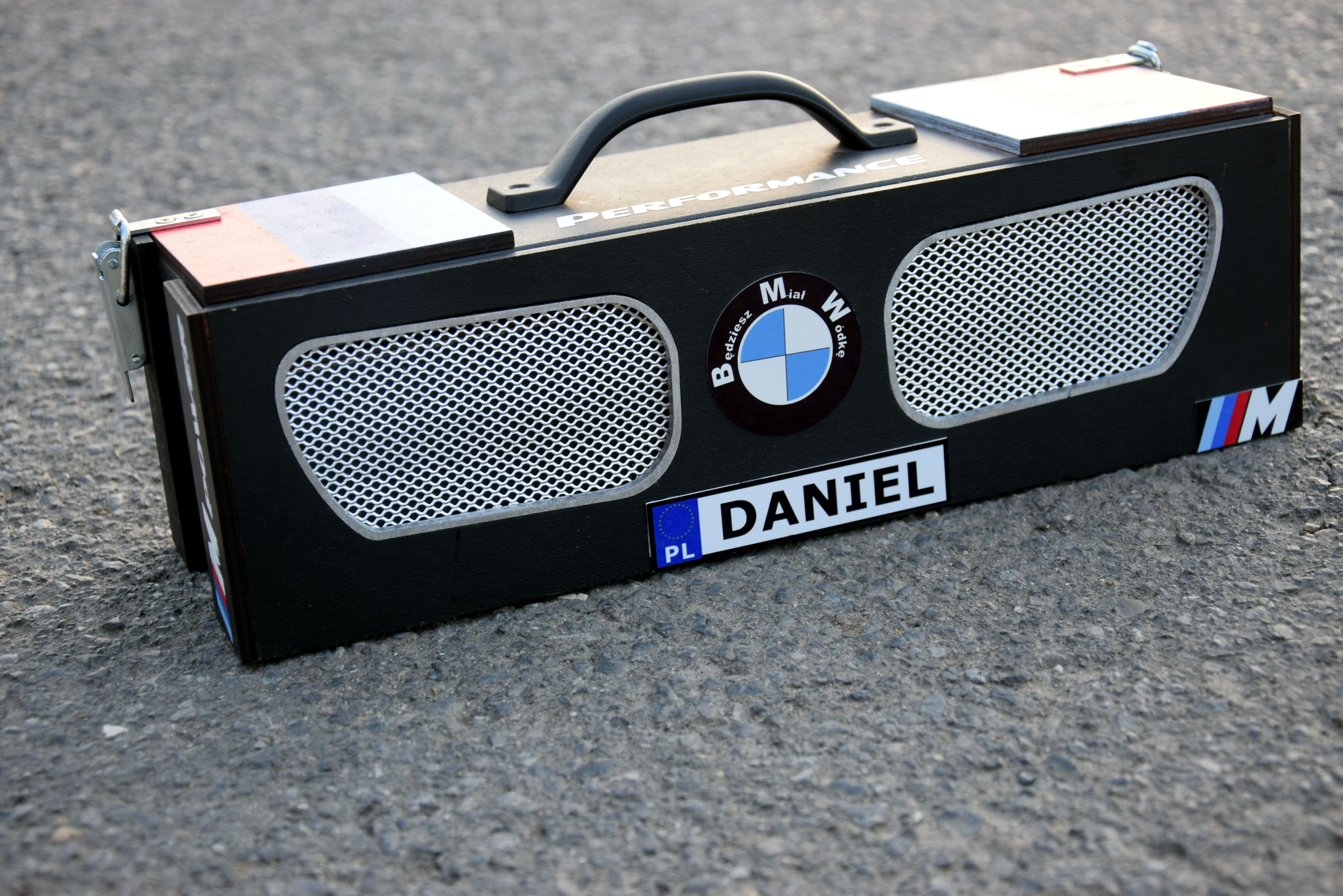 Skrzynka Na Alkohol Electronic Products Marshall Speaker Blu
