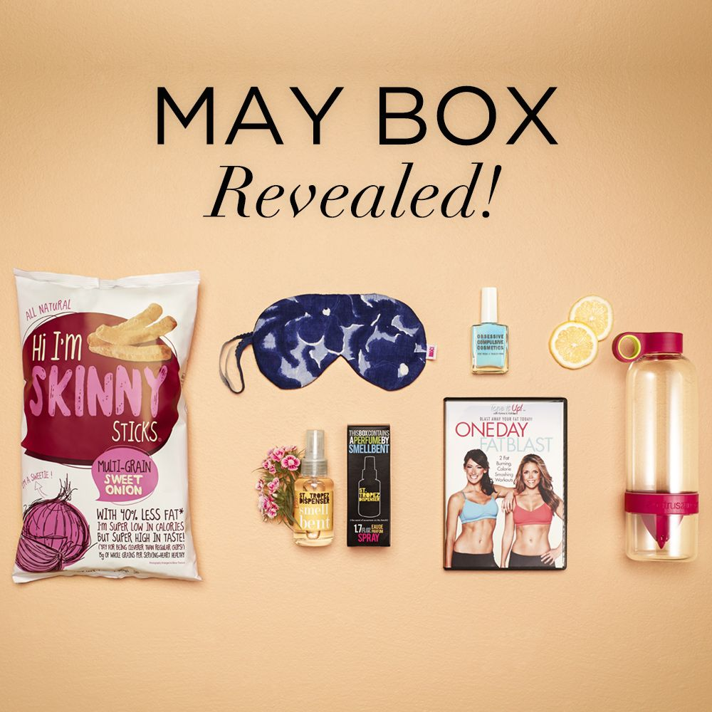 Popsugar must have box may 2014 past must have boxes - Home decor subscription box ...