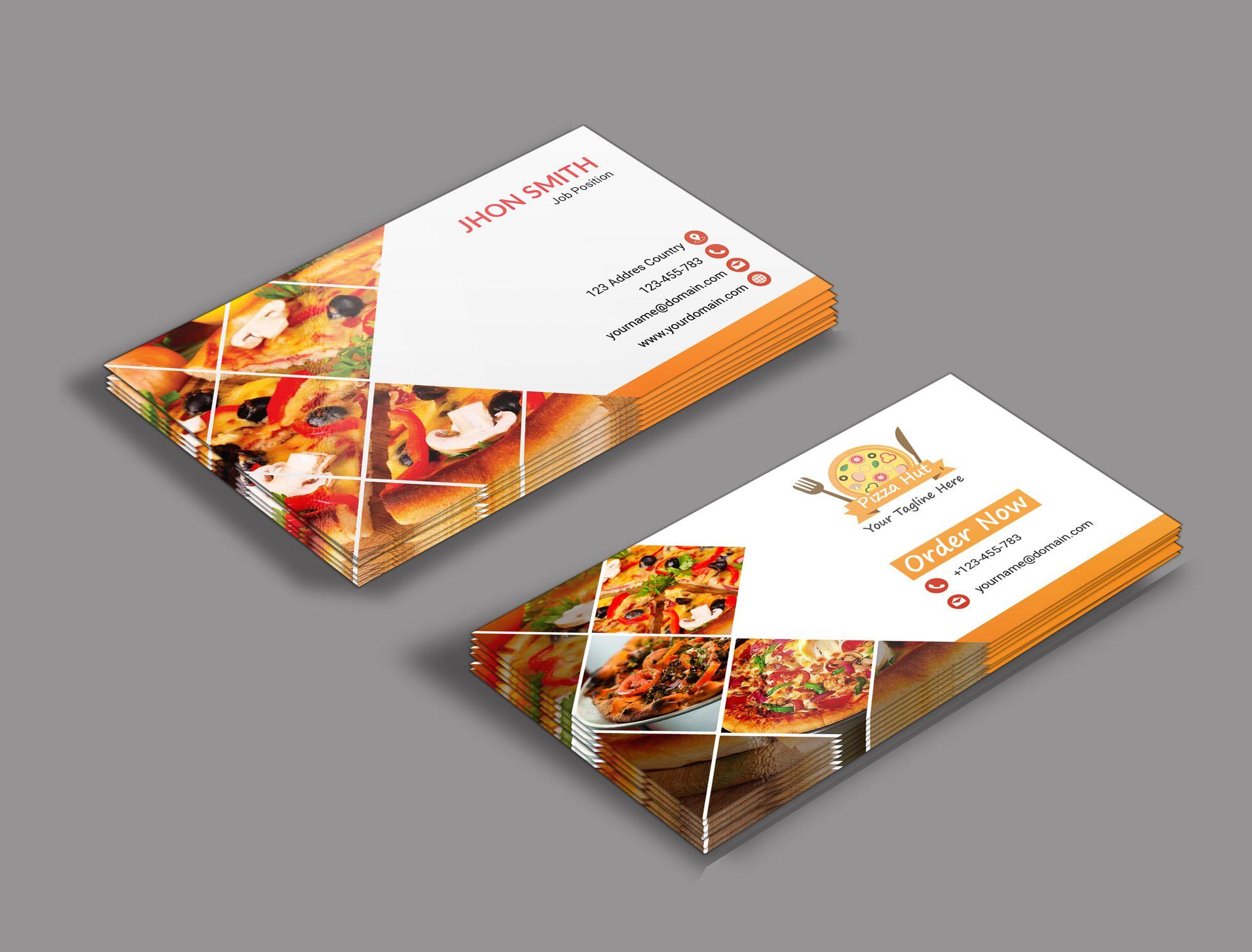 Restaurant Business Card Restaurant Business Cards Food Business Card Business Cards