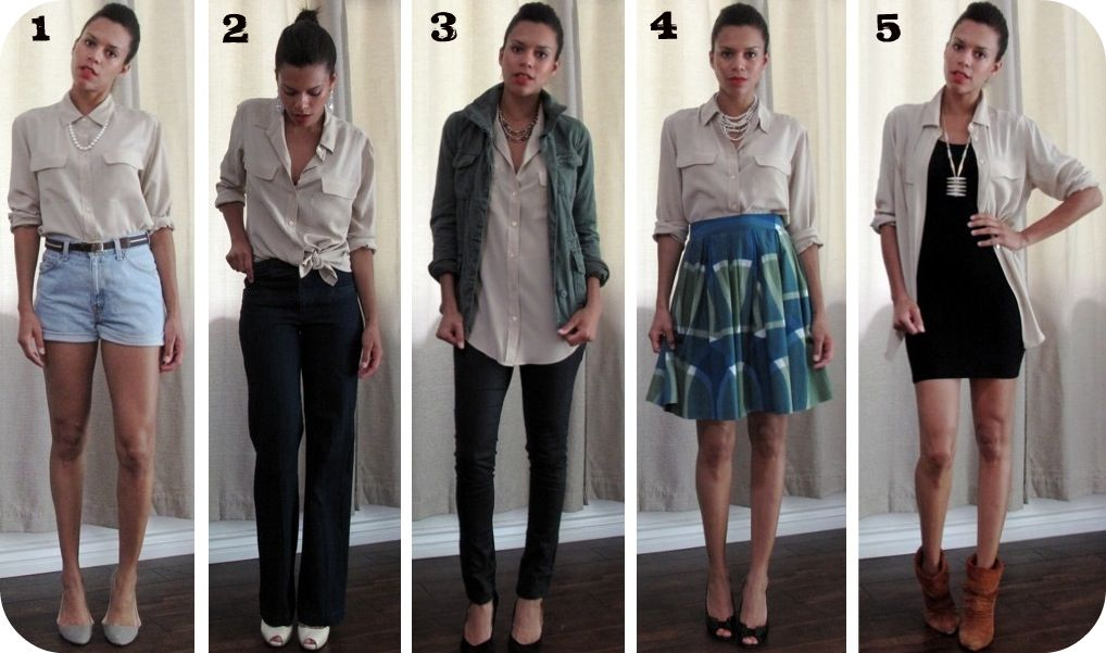 4a4b48fd37e3 5 ways to wear it: Equipment blouse silk button-down | casual ...