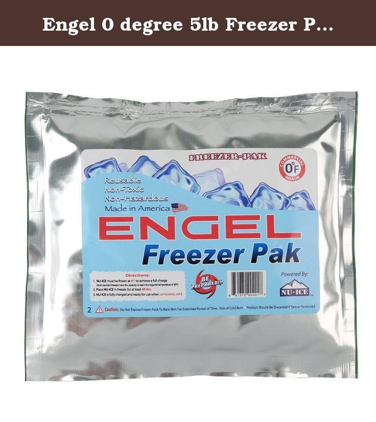 Engel 0 Degree 5lb Freezer Pak Dry Ice Alternative The Engel Freezer Pack Is A Non Toxic Non Hazardous Reusable Ice Packs Soft Sided Coolers Freezer Packs