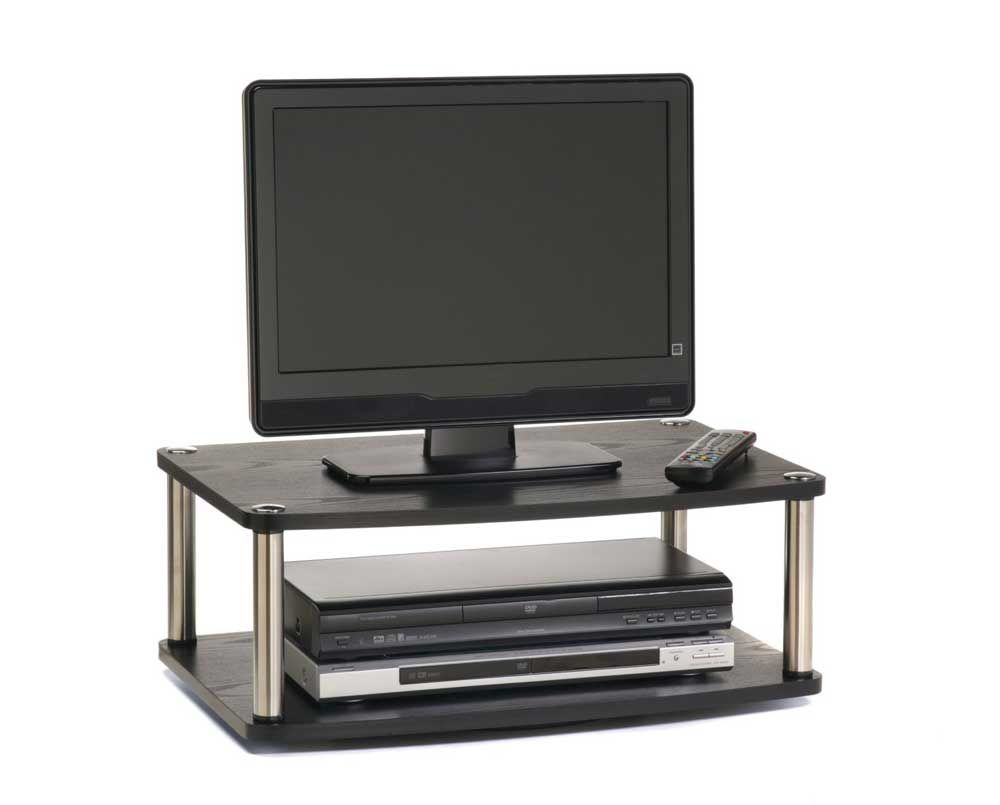 Small Tv Cabinets Convenience Concepts Designs2go 2 Tier Swivel Tv Stand Living