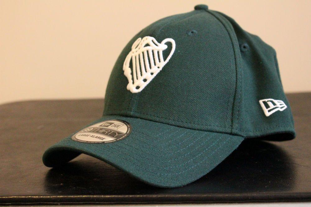 An Irish National Baseball Team Cap Features A Raised Embroidery White Harp Logo The Official Logo Of Baseball Irel Baseball Team Team Cap Nationals Baseball