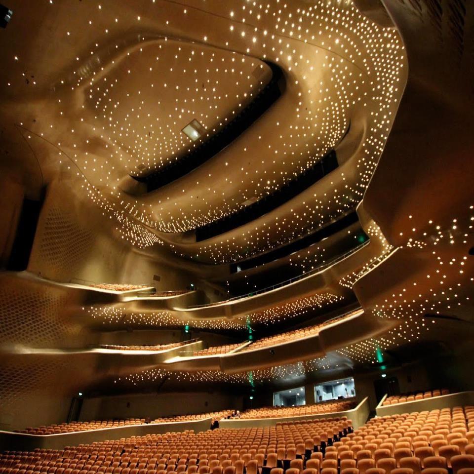 Guangzhou Opera House China Zara Hadid Zaha Hadid Architecture Architecture Futuriste Architectes Zaha Hadid