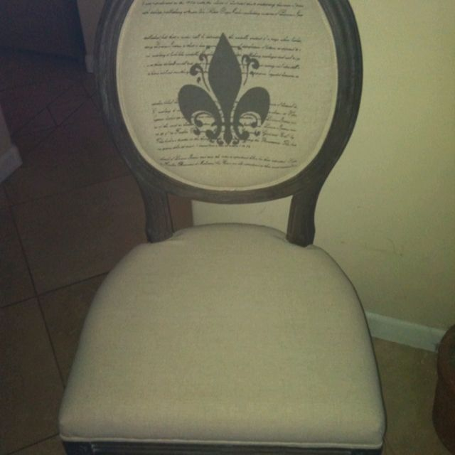 My new chairs