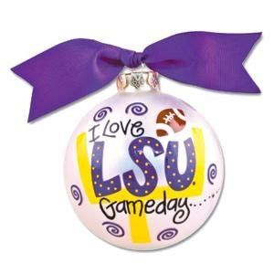 LSU Gameday Ornaments . . . http://astore.amazon.com/lsu.tailgating.pinterest-20/detail/B005Y8FYCW