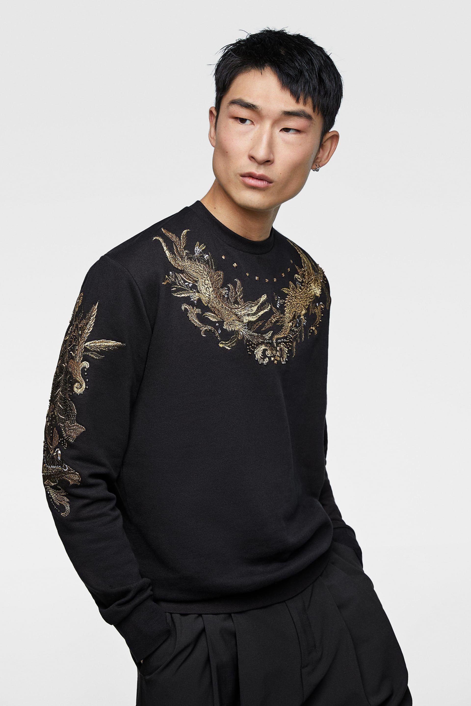 Embroidered Sweatshirt Embroidered Sweatshirts Fashion Long Sleeve Blouse [ 2880 x 1920 Pixel ]