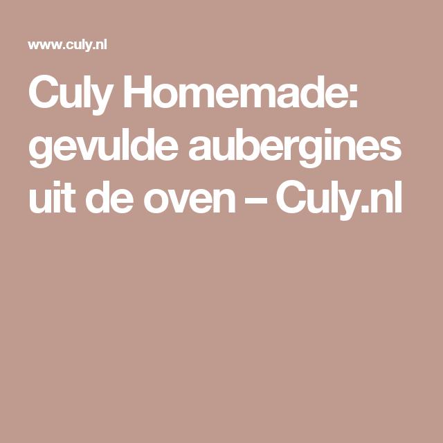 Culy Homemade: gevulde aubergines uit de oven – Culy.nl