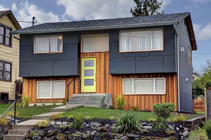 Amazing Split Level Reno Home Exterior Makeover Exterior Design House Exterior