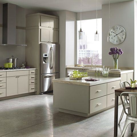 This Modern Kitchen Features Perry Street Purestyle Kitchen