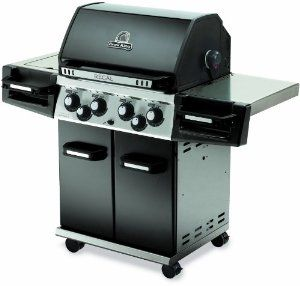 Broil King 976184 Regal 490 Liquid Propane Gas Outdoor Grill With