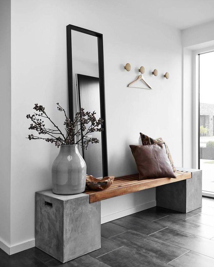 Gebrauchte Möbel: Sehen Sie 60 Ideen, die Möbel in der Dekoration wiederverwenden #flurdekoration