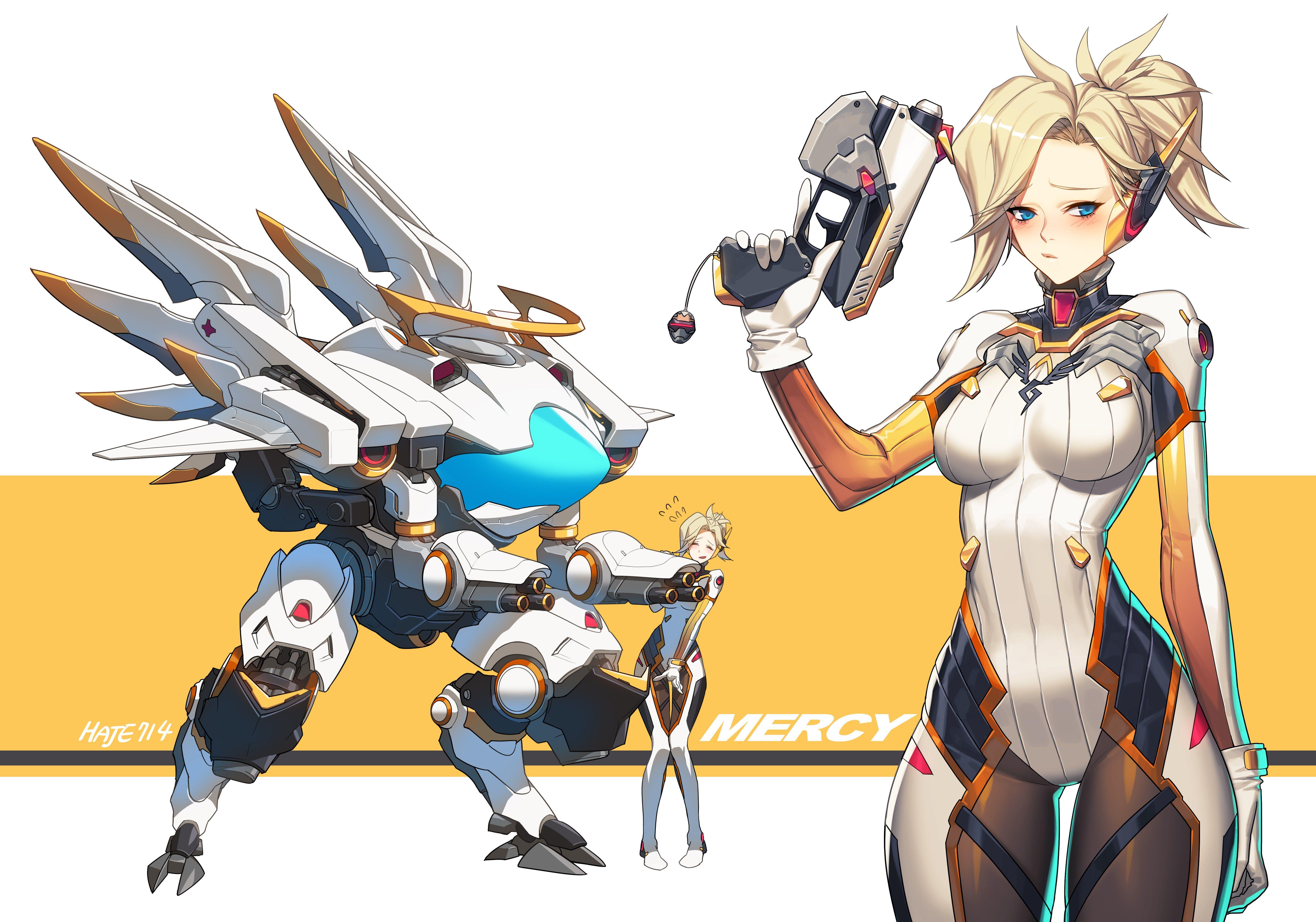 Mercy (Overwatch),Overwatch,Blizzard,Blizzard Entertainment,фэндомы ...