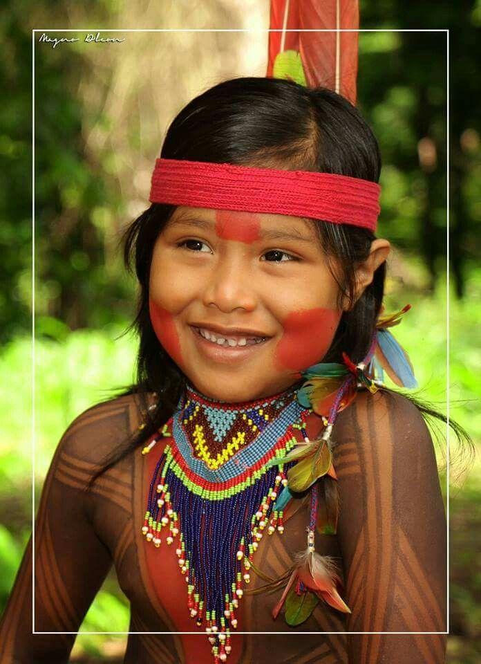 Iii-46701- Postal Indios Do Brasil- Menino Juruna