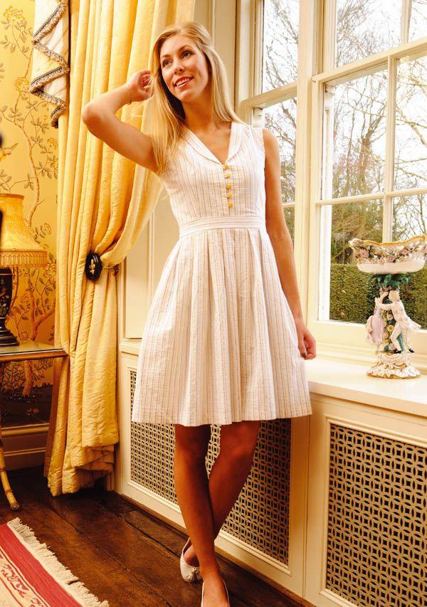 Summer Dress | COSTURA-PATRONES | Pinterest | Kleider nähen, Kleider ...