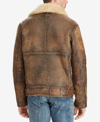 87c2486f7 Polo Ralph Lauren Men's The Iconic Bomber Jacket - Brown Earth/Light ...