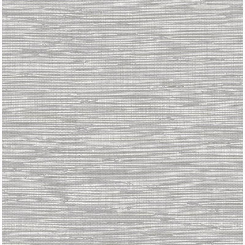Nus3340 Tibetan Grasscloth Silver Graphics Peel And Stick Wallpaper Nuwallpaper Grey Grasscloth Wallpaper Grasscloth Wallpaper