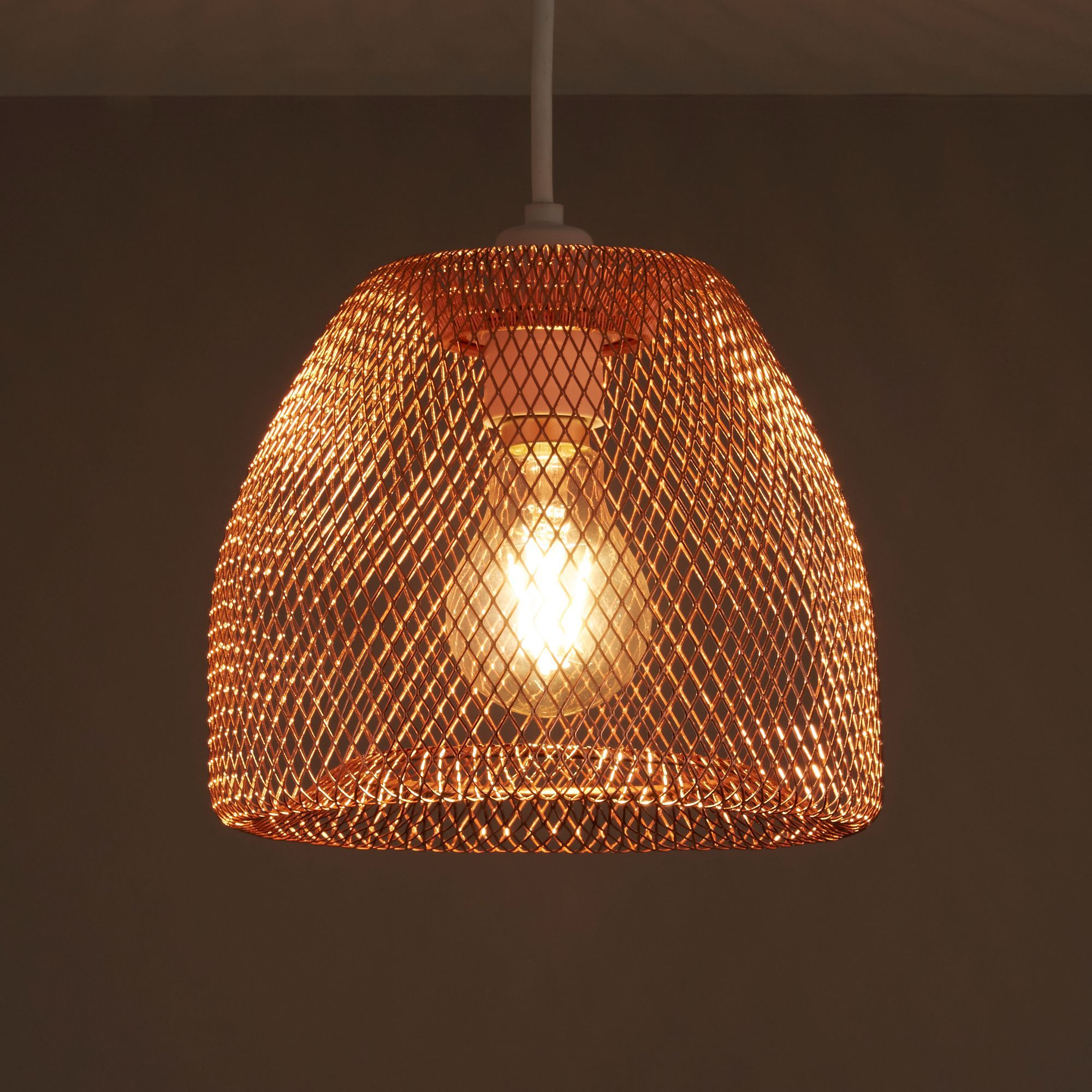Colours gatun copper wire light shade d205mm pinterest copper colours gatun copper wire light shade d205mm departments diy at bq keyboard keysfo Image collections