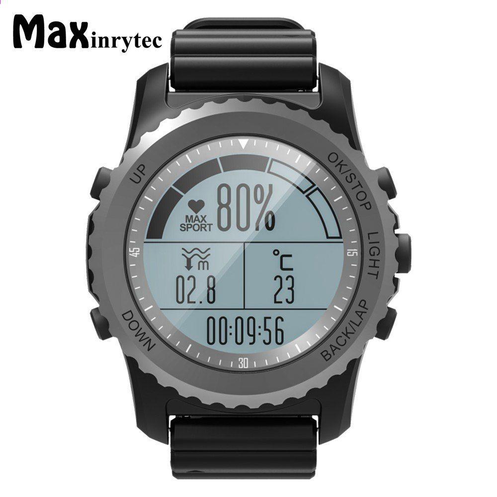 9db0598613b6 Original S68 GPS Deporte al aire libre Reloj elegante Deporte Reloj IP68  Impermeable Natación Snorkeling Ritmo