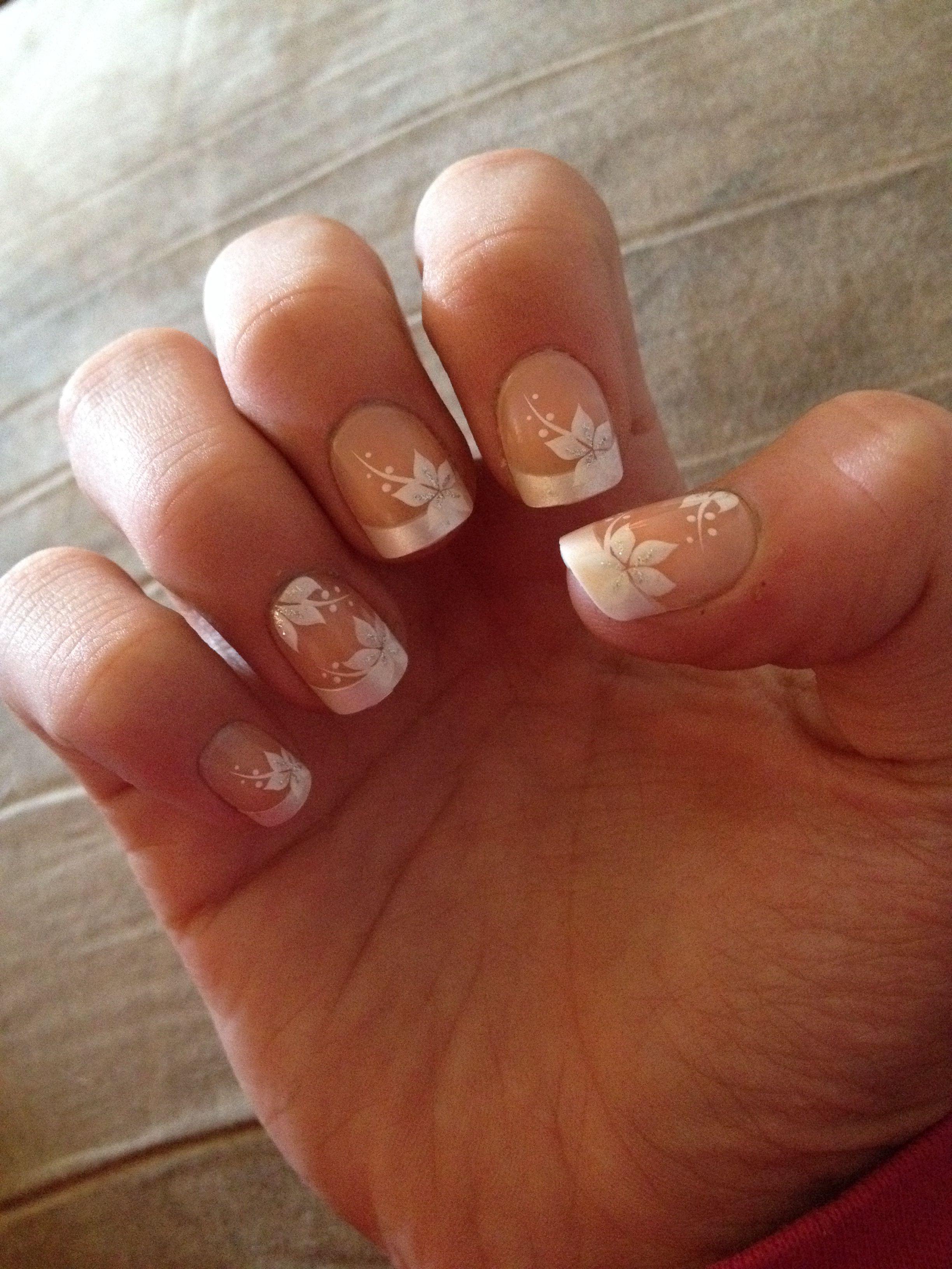 Fake nails!!! Sooo cute and not to long at all!!!