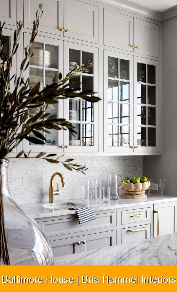 Baltimore House | Bria Hammel Interiors {1448} #house #interior #houseinterior Baltimore House | Bria Hammel Interiors #whitekitchen #marble #countertops #kitchen #design #interiorinspiration