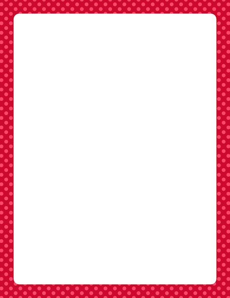 Red Polka Dot Border Clip Art Page Border And Vector Graphics Fabric Wall Coverings Color