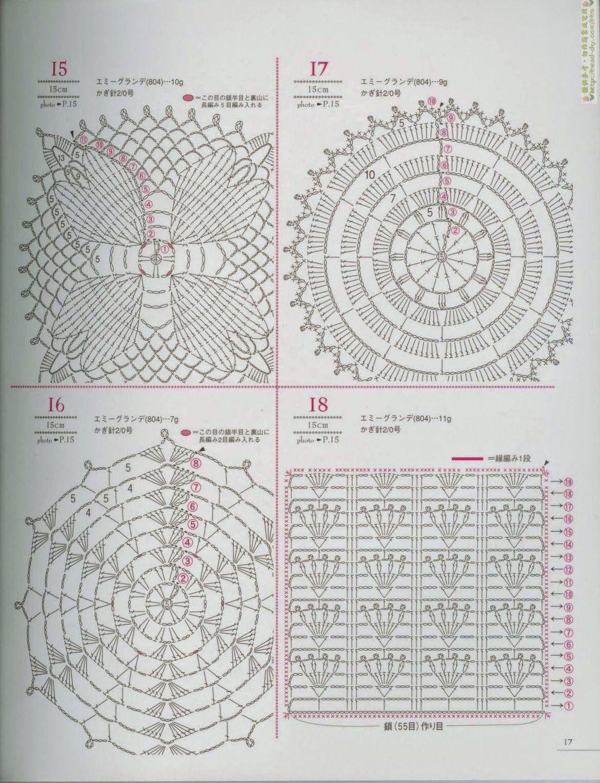 Pin de Tatiane Pereira en Projetos de crochê | Pinterest | Blusas ...