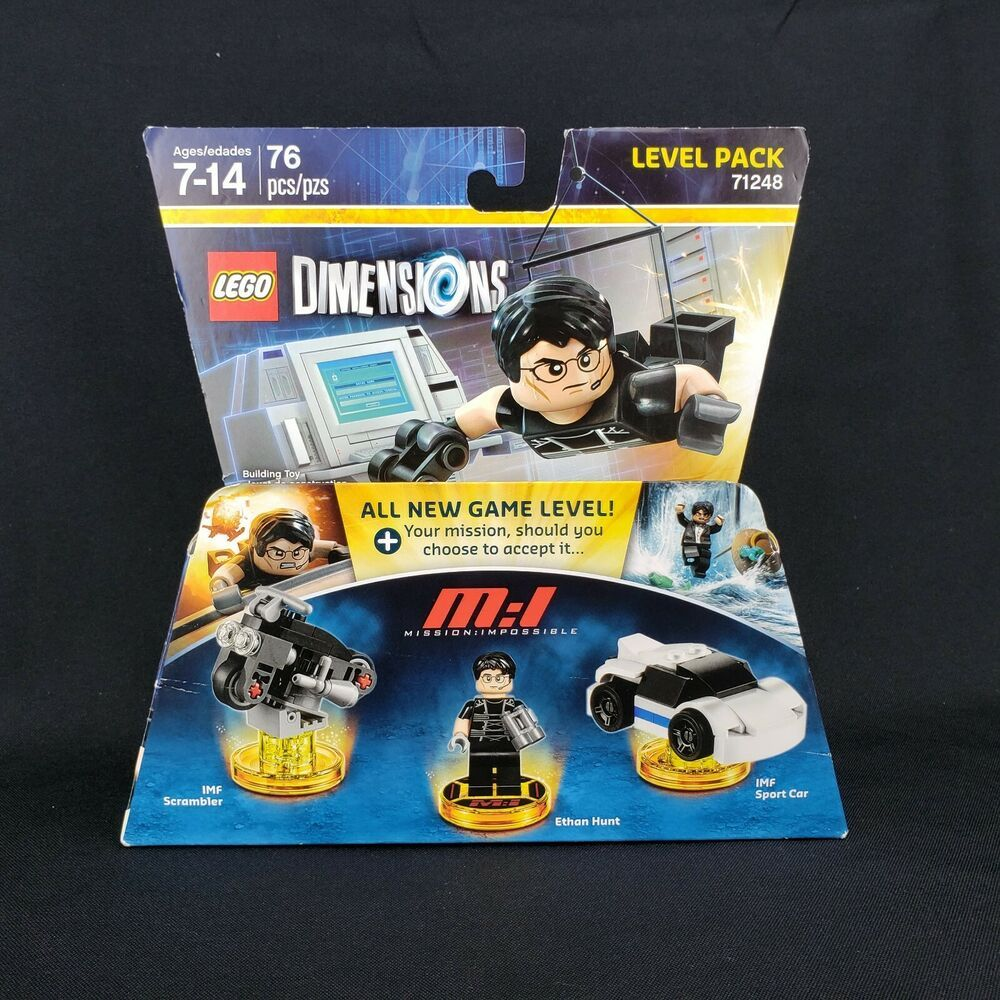 "71248 NEW LEGO Ethan Hunt Dimensions Minifigure /""Mission Impossible/"""