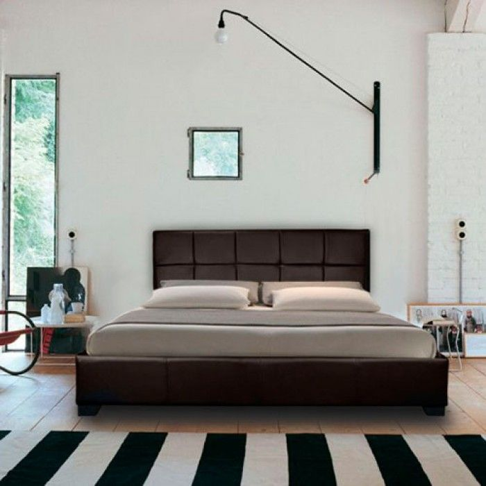 Chanel Modern Designer Leather Bed - Luxury Leather Beds - Beds.co ...
