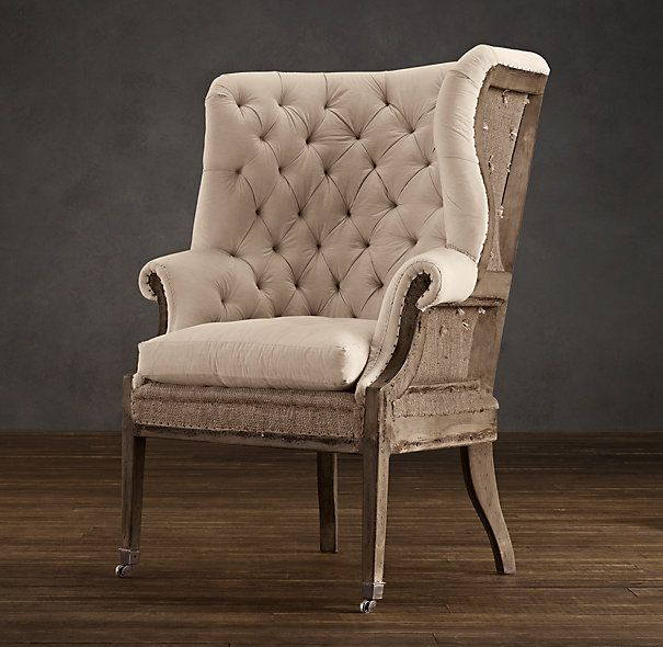 Restoration hardware 39 s new deconstructed collection makes for Who manufactures restoration hardware furniture