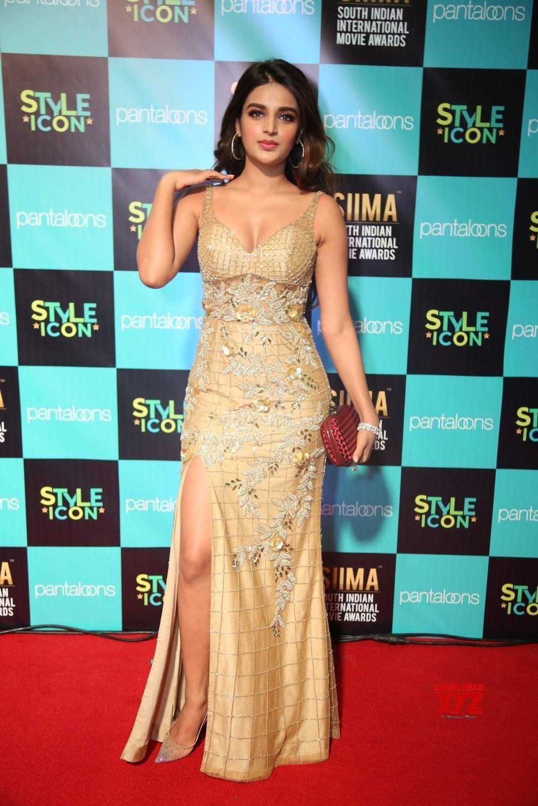 Actress Nidhhi Agerwal Hot Stills From Siima Awards 2019 Red Carpet Social News Xyz Bollywood Actress Hot Photos Beautiful Bollywood Actress Most Beautiful Indian Actress