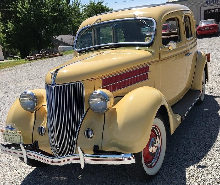 1936 Ford Deluxe - 4 Sedan- Suicide Doors - Flathead 8 , 85 HP ...