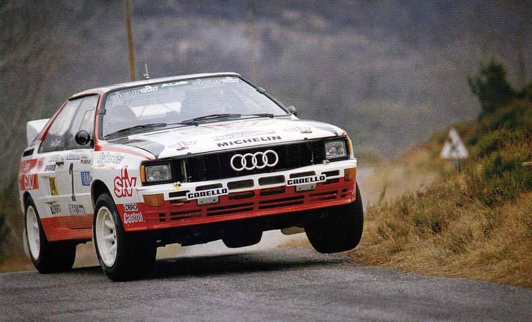 Rally Garrigues 1985 Harald Demuth Rally Rallye Ralli Audi