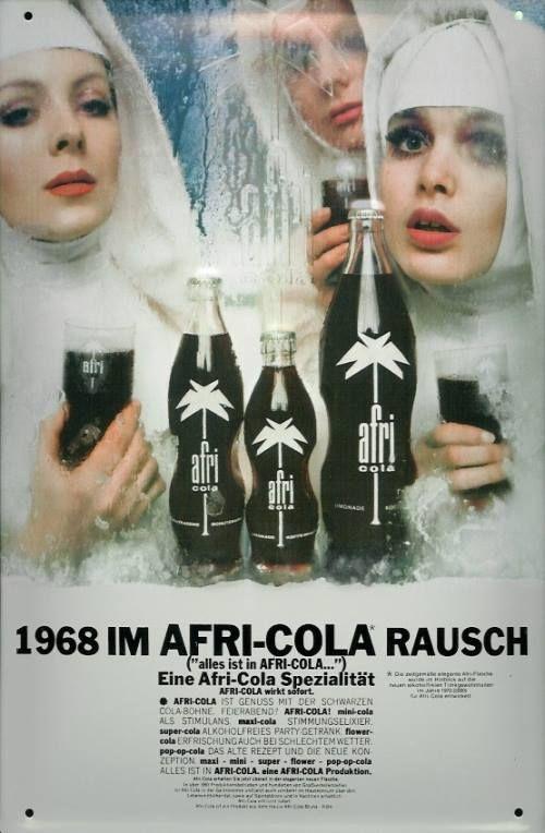 Afri Cola Mit Bildern Afri Cola Alte Werbung Werbeplakat