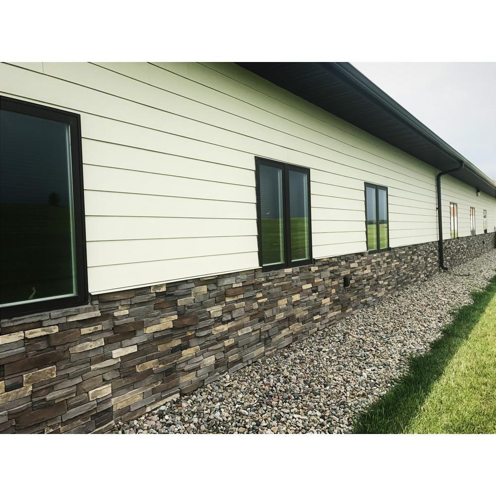 Adorn 23 5 In X 6 In Terra Stone Veneer Siding Flats Tflat The Home Depot Stone Veneer Stone Front House Stone Veneer Siding