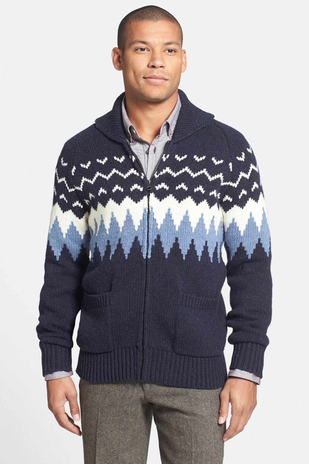 Grayers Full Zip Wool & Cotton Cardigan