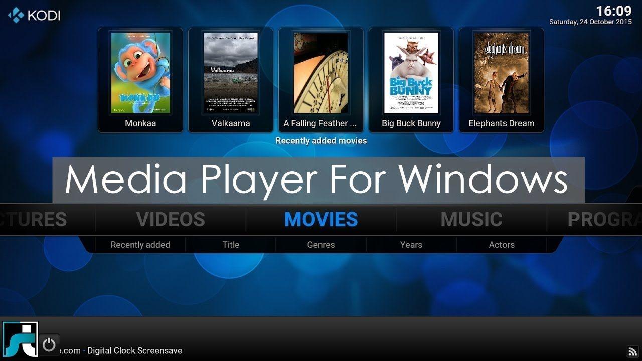 Top 10 Best Media Player For Pc Windows And Mac 2017 Pc Network Xbmc Kodi